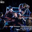 Opera NEO Summer Opera Festival and Workshop 2020: Deadlines approaching!