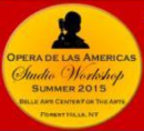 New from Canto de las Américas™: Master Classes in NYC (August 23, 24, 25) Now Open to the Public!