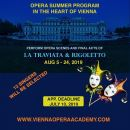 International Opera Summer Program in Vienna: deadline July 10!