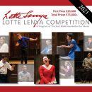 The 2021 Lotte Lenya Competition: deadline extended!